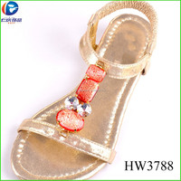 HW3788 latest fashion resin stone shoe accessories for sandal decoration