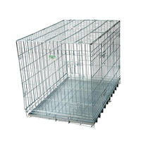 zinc portable outdoor folding dog run