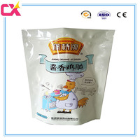 High quality custom stand up roast chicken packaging/chicken plastic bag