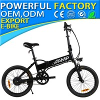 foldable electric bicycle 20 inch 48V 250w aluminum alloy frame JG20 LCD01