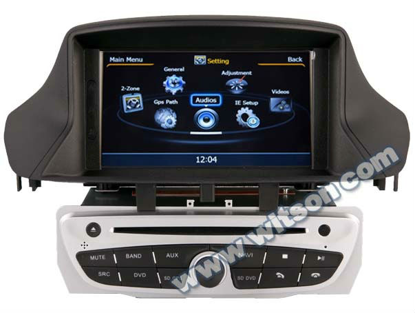 WITSON FLUENCE car stereo with IPOD Ready Optional