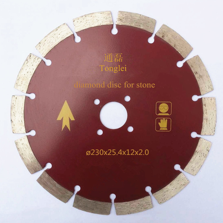 230 mm diamond cutting disc for stone and concrete cutting