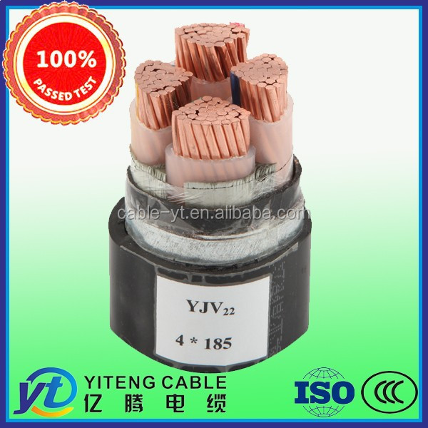 Cu/XLPE/STA/PVC Armored 4*185mm2 Hot Sale Big Promotion Power Cable