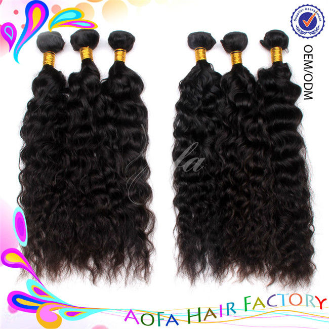 Aofa new product wholesale 6A indian remy hair milky way human hair