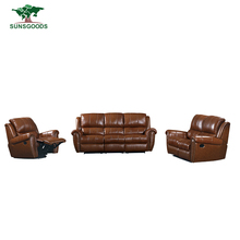 Best Selling Modern Recliner Leather Sofa,Functional Italy Leather Recliner Sofa
