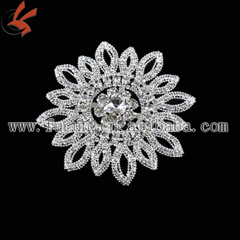 sew on rhinestone brooch wedding dress rhinestone appliques