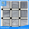 Polished Marble,cheap italian marble prices,grey white marble tile