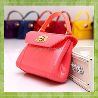 Wholesale cheap fashion lady silicone bag