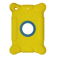 New Arrival 3d image protective silicone case for ipad mini, silicone material tablet cover