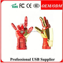 cheap usb flash drive 1gb 2gb 4gb 8gb iron man , promotion gift avengers iron man usb drive popular