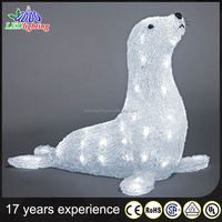 lighted outdoor animals decorations