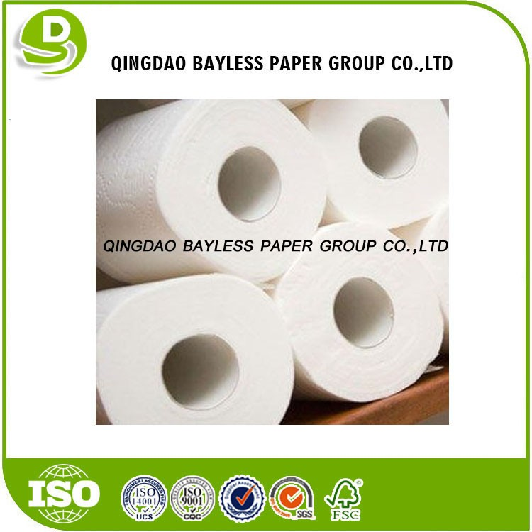Manufacturers wholesale 4-ply unbleached toilet paper roll