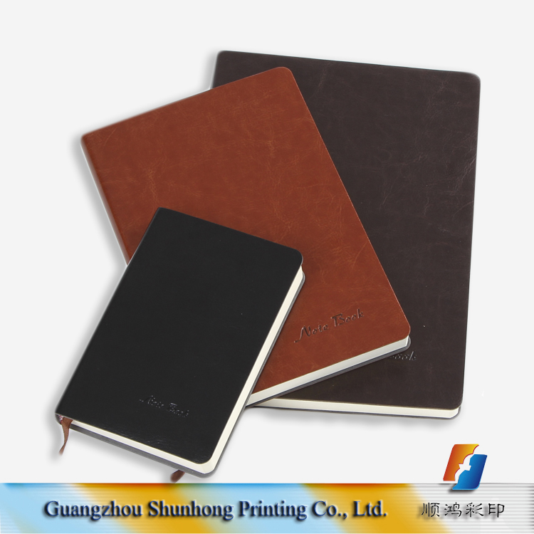 Hot sale cheap wholesale personalised notebooks soft leather cover