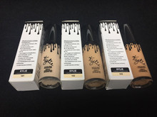2017 new makeup waterproof kylie lipquid foundation 3color liquid in stock