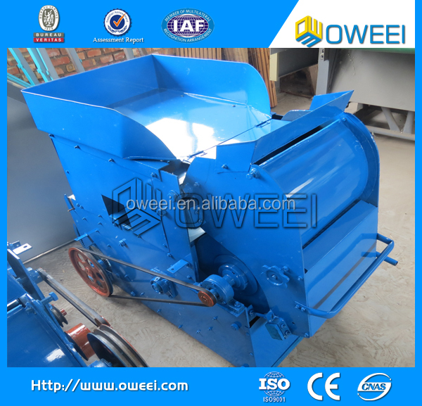 High efficiency double roller cotton gin
