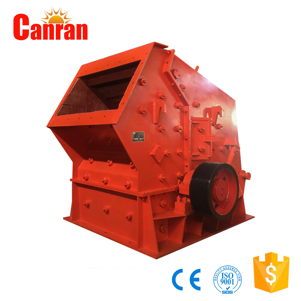 Portable type series mobile impact crusher, road construction equipment