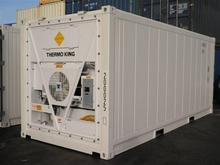 Second hand ISO 20ft refrigerated cargo worthy aluminum cargo container