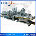 Auto tool changing loading unloading cnc router