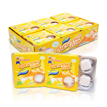 14g sweet lemon mint flavor blister pack chewing gum