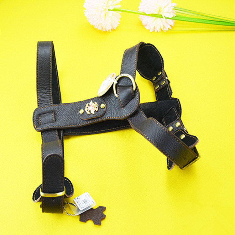 Best quality hot sale adjustable dog harness with pocket