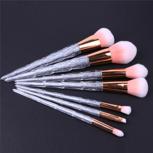Newest crystal unicorn makeup brushes best makeup brushes