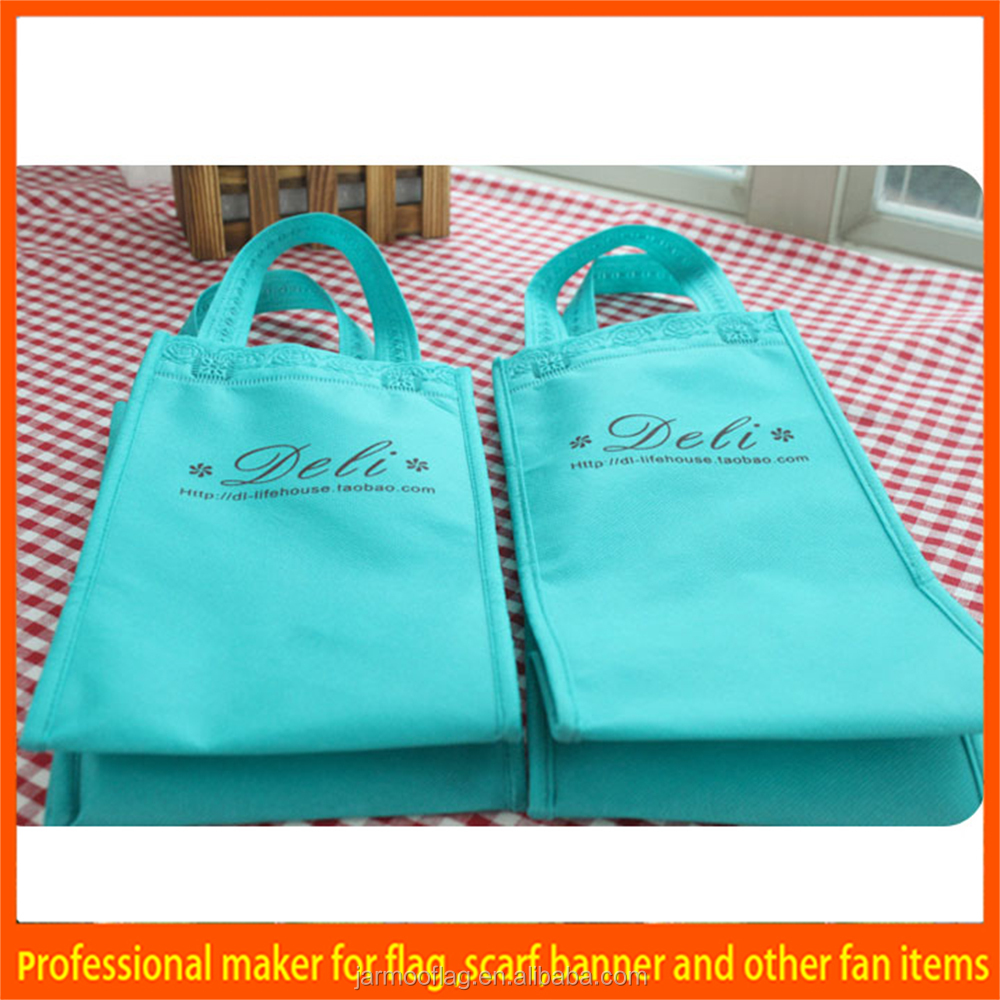 2016 hot sale shopping top selling non woven rice bags