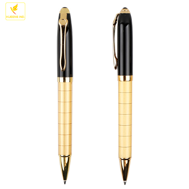 LQPT-MP016A heavy high class elegant gift metal pen with customiging OEM gift box