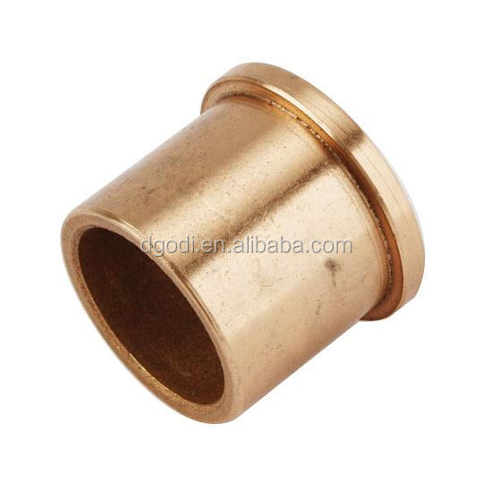 flanged sintered bronze oilite bushing bearing