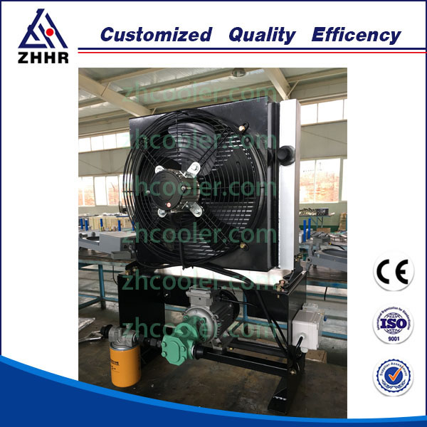 Hydraulic Pumps Driven Oil Cooler