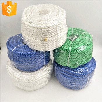 "HIGH QUALITY, premium dacron polyester 3 strand twisted rope,3/8"",several colors"