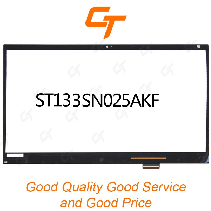 "Best quality 13.3""Touch Digitizer front Panel Glass ST133SN025AKF"