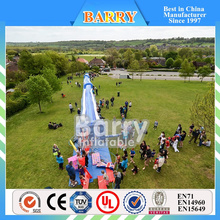 Best price street events long inflatable water slide , slide the city for sale