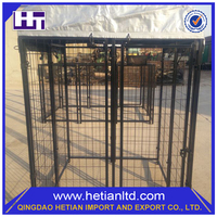 Hot Sale Easily Assembled Heavy Duty Cheap Chain Link PVC Dog Kennel