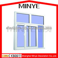home replacement white UPVC window/Sliding window/door and window company in China