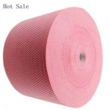 nonwoven cleaning cloth/Oeko-Tex Standard 100 spunlace non-woven roll wholesale/wave print nonwoven wipes factory