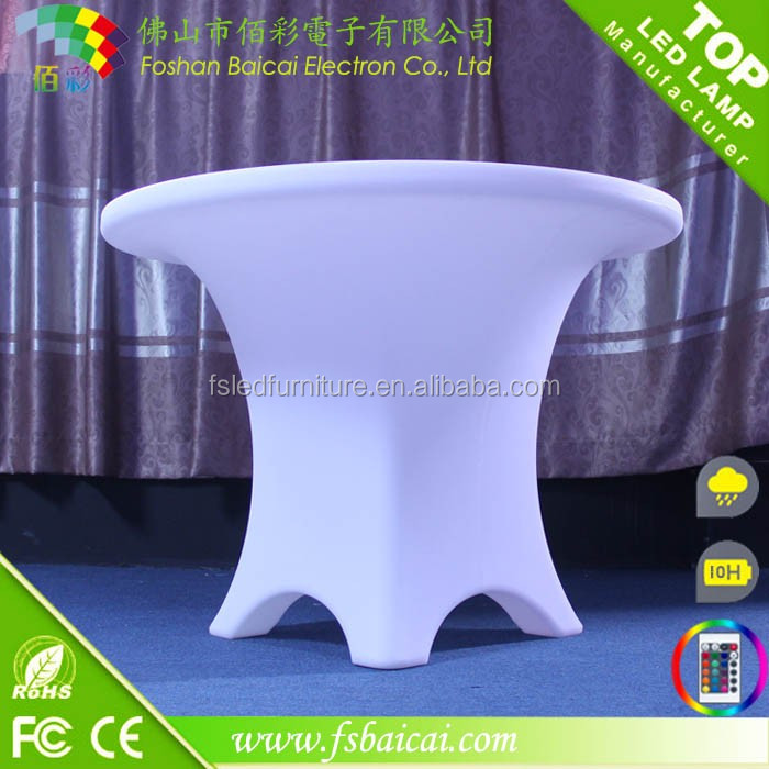 High quality LED furniture/PE material led tv stand furniture