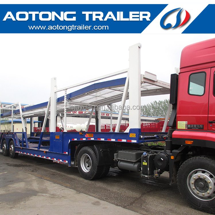 factory supply good quality car carrier semi trailer for sale