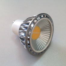 CE certified 230v cob 5w dimmable led spot light gu10