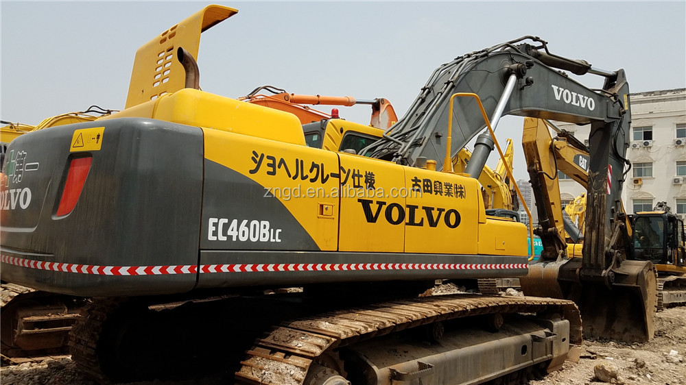 used original volvo ec460blc crawler excavator in cheap price