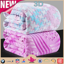 vivi 3d coral fleece blanket