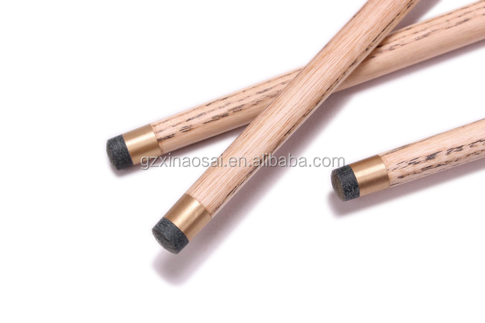 Hot sale 3/4 jionted carom billiards cue members bar ash wood snooker cue for sale