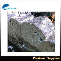 Aluminium Foil Facing Insulation Rock Wool