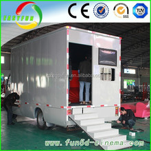 truck mobile 5d cinema 6 to 120 persons 5d cinema equipment hot sale