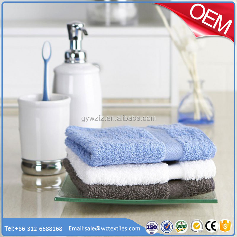 Professional manufacture machine weave towel with logo