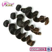 XBL New Arrival Virgin Human Hair Loose Wave Light Brown Indian Hair