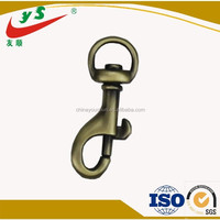 High Quality 8mm Oval Swivel Eye Wholesale Lobster Claw Snap Hook Leisure Luggage Parts