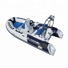 inboard outboard engine hypalon rib boat with fiberglass