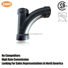 black plastic products for dewatering 45 degree elbow with CUPC certificant 2 inch pipe fitting