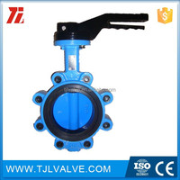 lug type butterfly valve sure seal 2-500-823515 2 butterfly valve epdm seal full cut lug style ci/di/ss/cs jis/din/ansi