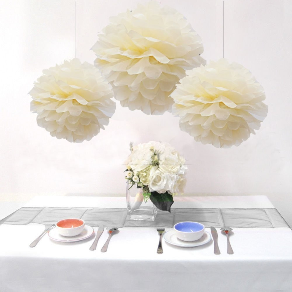 Diy paper honeycomb balls wedding hanging decor buy for Where can i buy wedding decorations